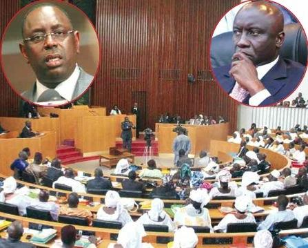 MACKY SALL COURTISE YOUSSOU DIAGNE